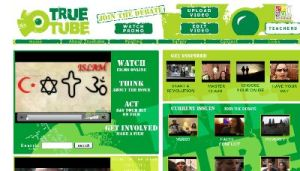 Screen shot of Truetube