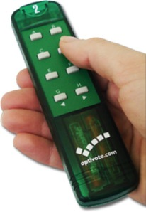 Optivote Handset