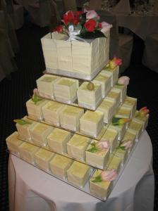 Image of a tiered cake
